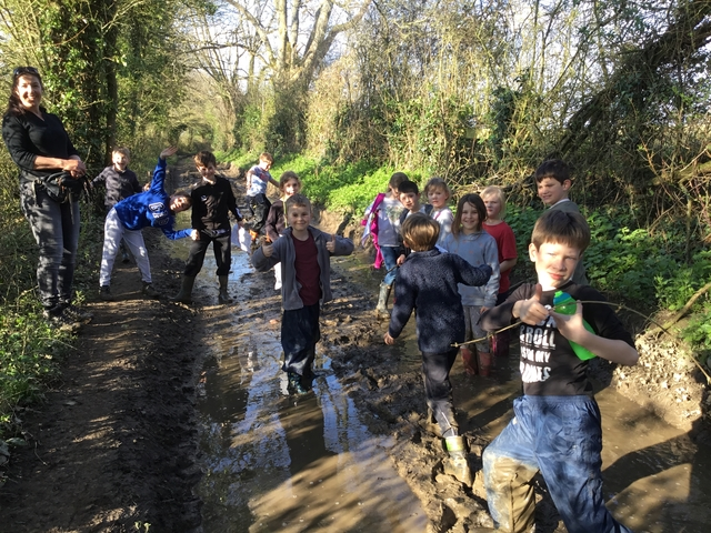 An Easter Treasure Hunt at Adventure Club